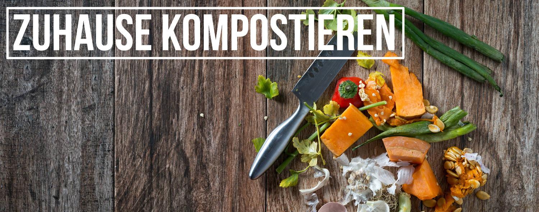 Dank einem Wurmkomposter kannst du ganz einfach Grünabfälle in Kompost verarbeiten. Auch drinnen und Zuhause.